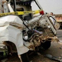 टेंपो ने गुजरात से मुंबई पैदल जा रहे लोगों को कुचला, चार की मौत और तीन घायल