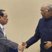 पूर्व मुख्य न्यायाधीश रंजन गोगोई को राष्ट्रपति ने  राज्यसभा के लिए किया मनोनीत