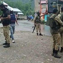 जम्मू कश्मीर के अनंतनाग में सुरक्षा बलों के गश्ती दल पर ग्रेनेड से हमला