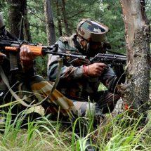 भारतीय क्षेत्र में घुसपैठ की कोशिश के दौरान पाकिस्तान के तीन आतंकवादी ढेर