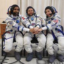 छह महीने तक रहने के बाद तीन अंतरिक्ष यात्री को लेकर धरती पर वापस लौटा सोयूज एमएस-15
