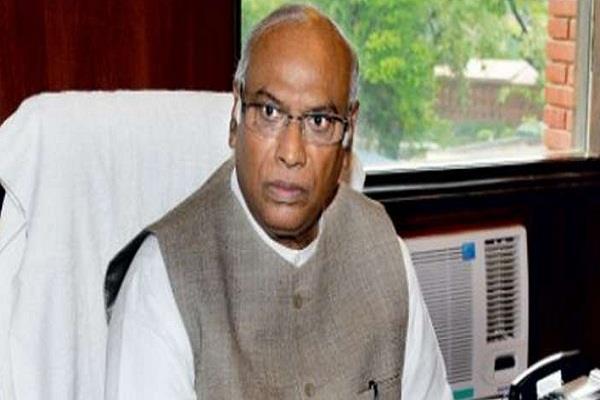 कांग्रेस ने कर्नाटक से मल्लिकार्जुन खड़गे को बनाया राज्यसभा उम्मीदवार
