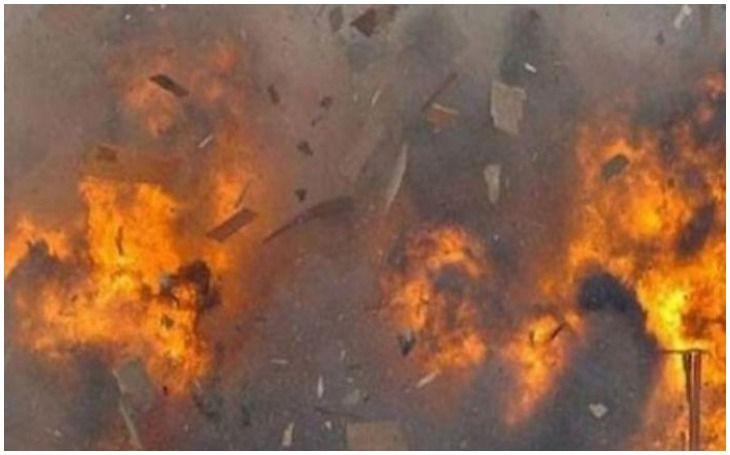 बिहार के दरभंगा में एक अवैध पटाखा गोदाम में विस्फोट, तीन जख्मी