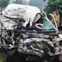 यूपी के प्रतापगढ़ में ट्रक और स्कॉर्पियो के बीच टक्कर में 9 की मौत