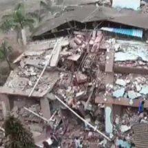 महाराष्ट्र के रायगढ़ में एक पांच मंजिला इमारत की 3 मंजिलें गिरे