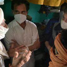 हाथरस पीड़िता के परिवार से मिले राहुल गांधी और प्रियंका गांधी